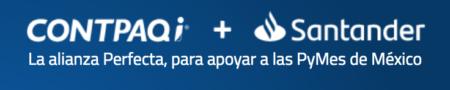 Alianza CONTPAQi® - Santander logo