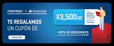 Cupón Contpaqi Santander